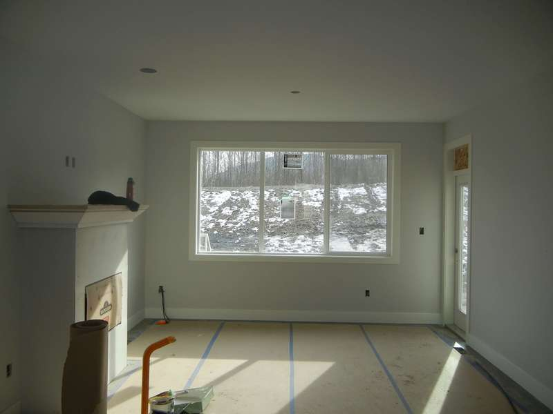 Living Room, view to Rear