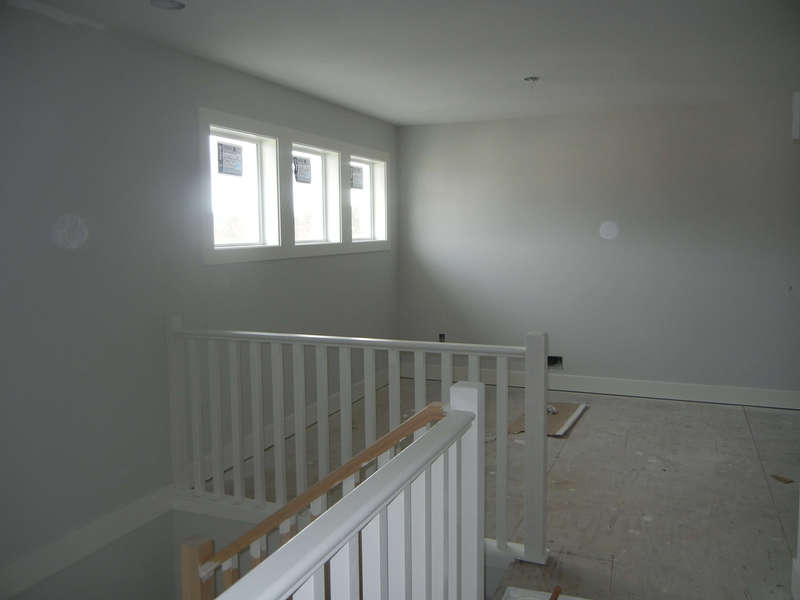 Upstairs view to family room